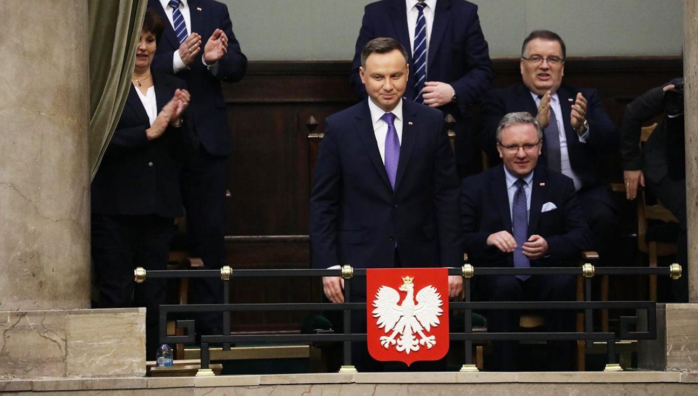 Obecne w programie posłanki PiS, Lewicy i PSL-KP deklarują uczestnictwo w zbliżającej się uroczystości (fot. PAP/Tomasz Gzell)