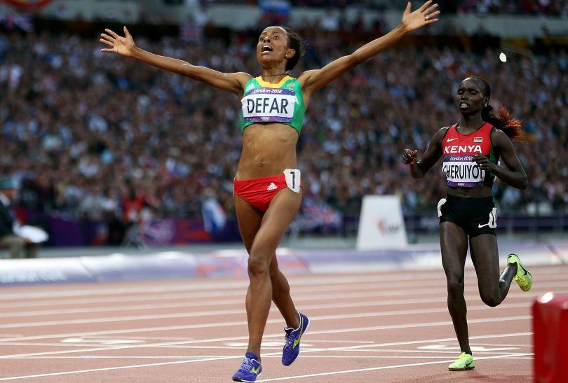 Etiopka Meseret Defar wygrała bieg na 5000 m (fot. Getty Images)