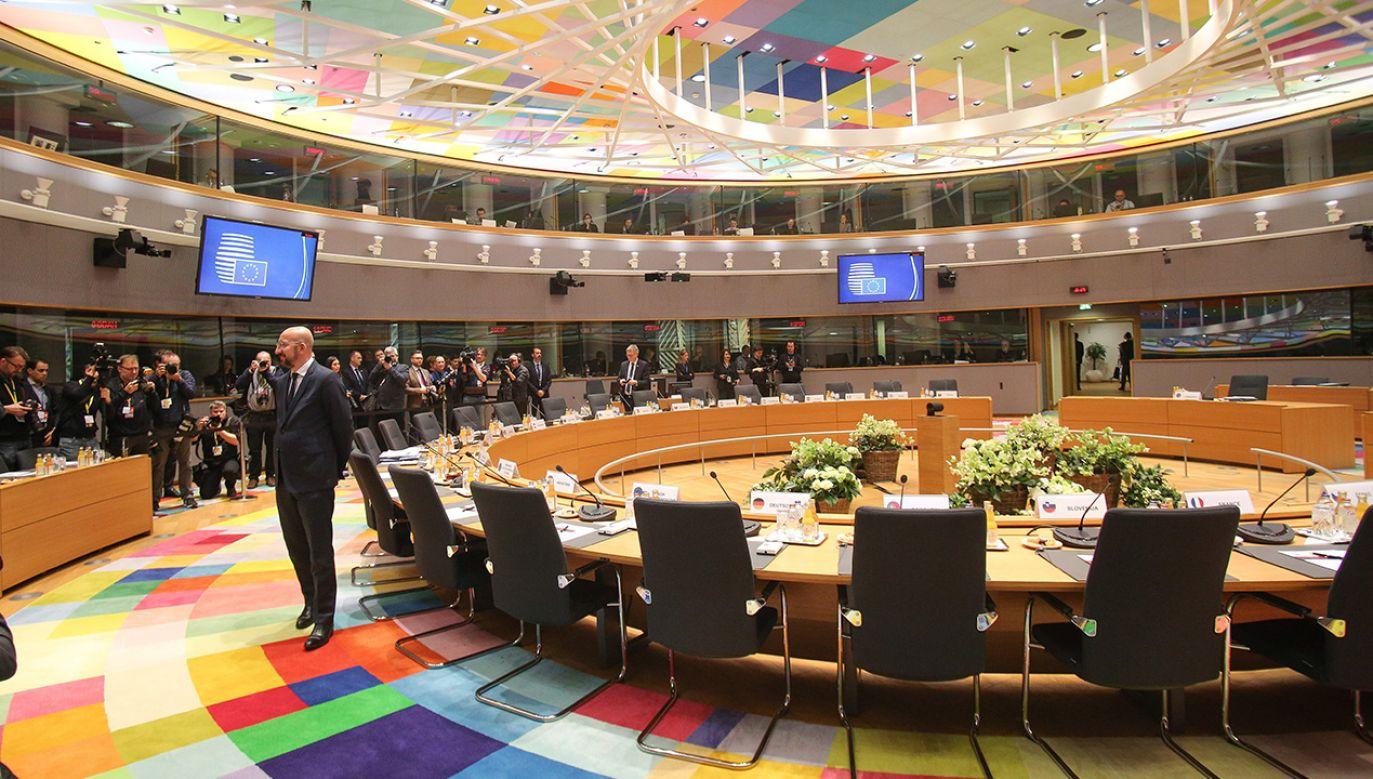 Oczekiwania państw unijnych były skrajnie różne (fot. Nicolas Economou/NurPhoto via Getty Images)