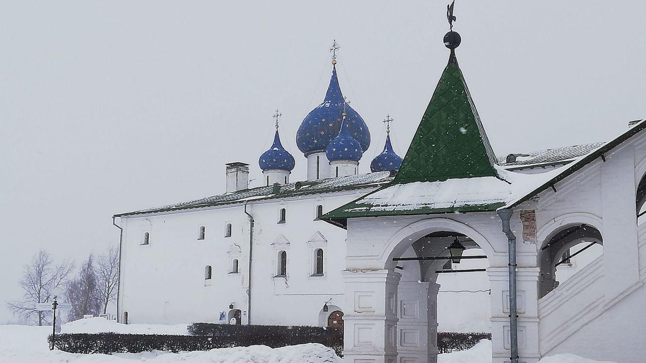 Suzdal w zimowej odsłonie wygląda magicznie (fot. Agnieszka Wasztyl)