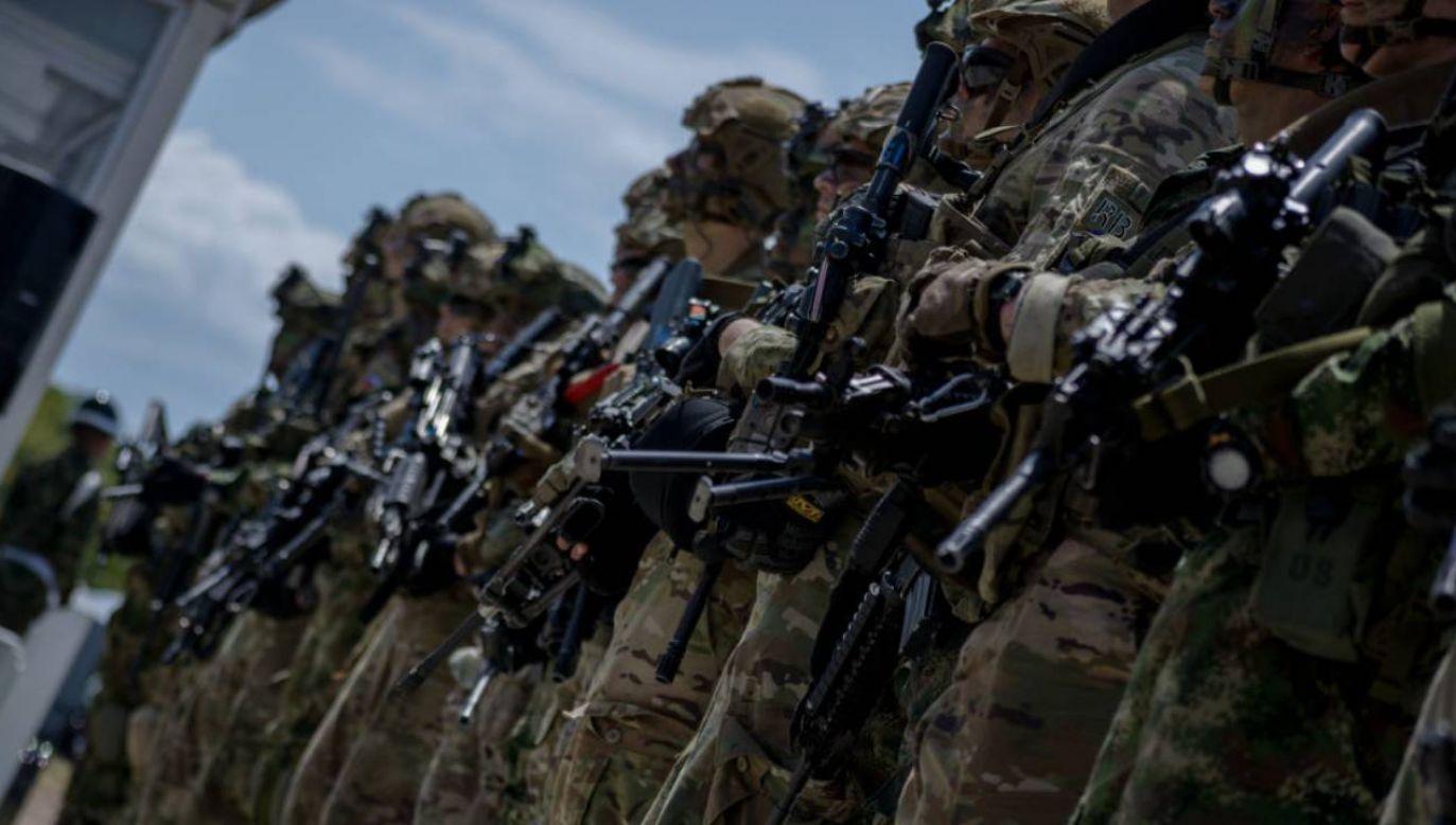Coraz więcej wojsk USA w Polsce? (fot.Vanessa Gonzalez/NurPhoto via Getty Images))
