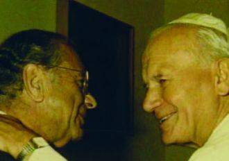 Pope John Paul II and His Friend