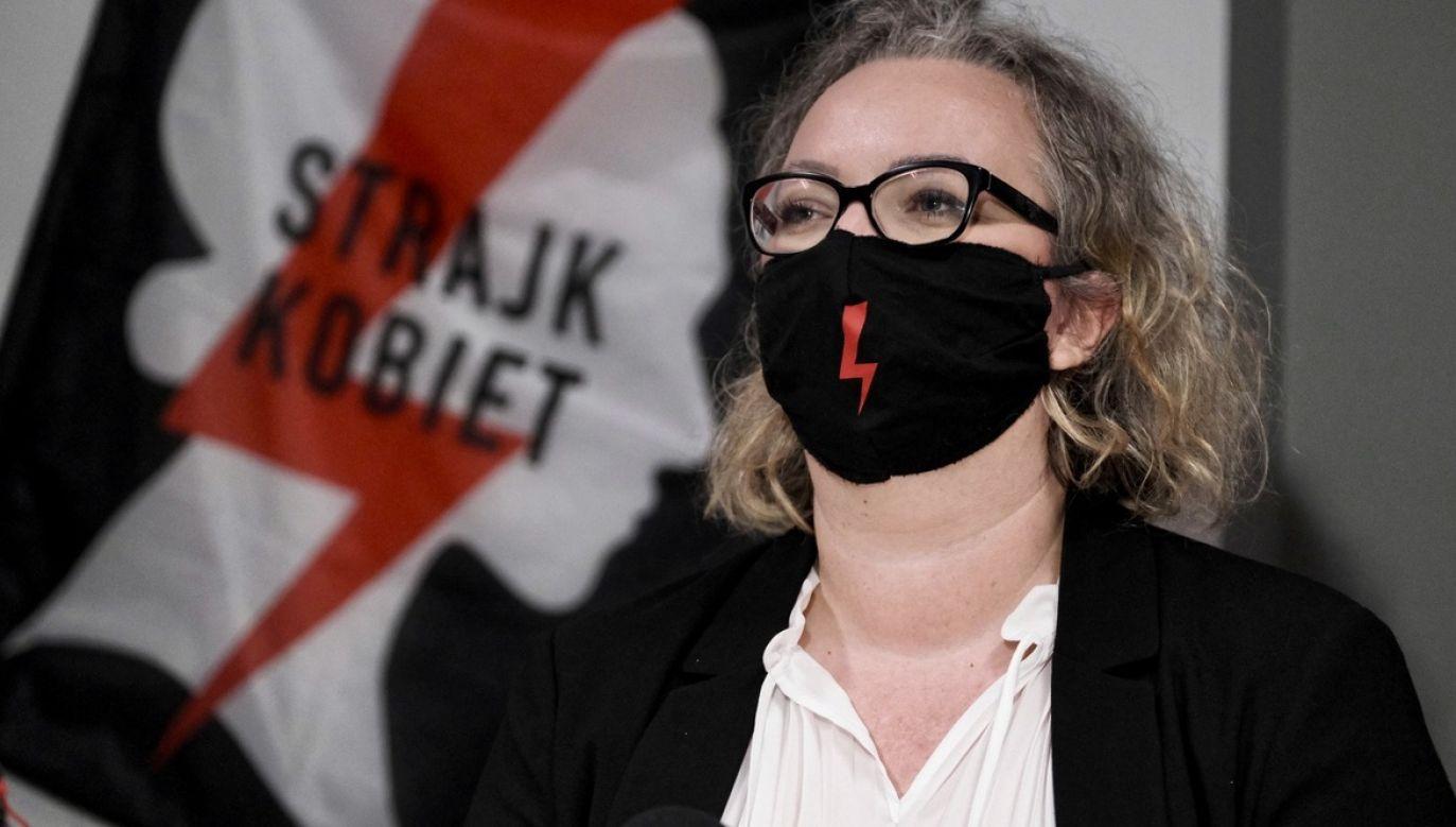 – Usłyszano nas dopiero gdy na ulicy padło hasło: Wypier***ać – stwierdziła feministka (fot. PAP/Mateusz Marek)