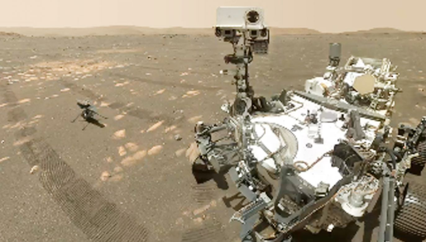 Zdjęcie powstało w 46. dniu misji  (fot.TT/NASA's Perseverance Mars Rover)