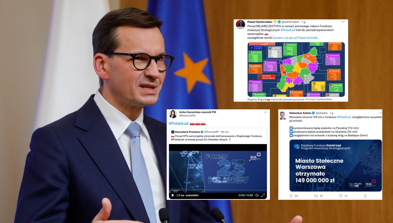 Premier Mateusz Morawiecki o Polskim Ładzie (fot. EPA/STEPHANIE LECOCQ, PAP/EPA)