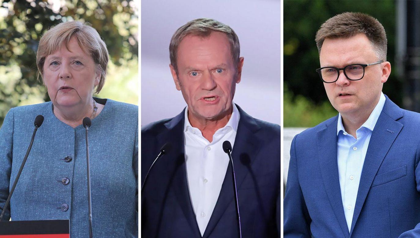 Polityczny Przegląd Tygodniowy (fot. PAP/Wojciech Olkuśnik; Radek Pietruszka)