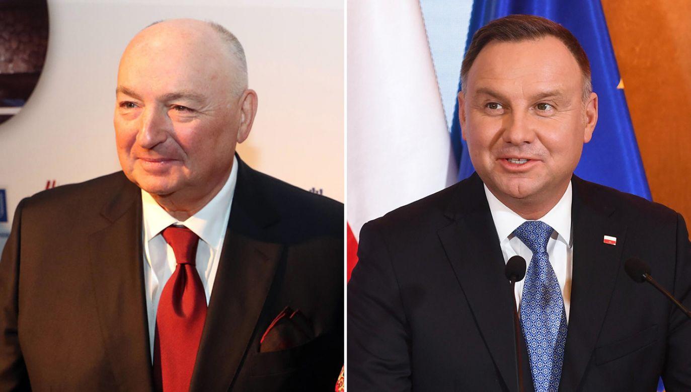 Do wypowiedzi Mosze Kantora odniosła się Kancelaria Prezydenta RP (fot. Yad Vashem - Pool/Getty Images; arch. PAP/Radek Pietruszka)
