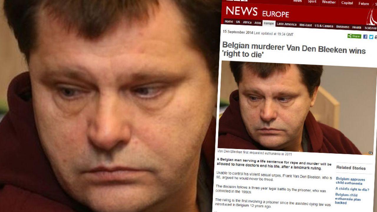 Frank Van den Bleeken (fot. bbc.com)
