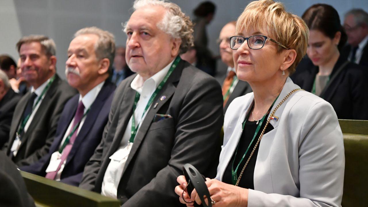Sędzi Morawiec (pierwsza z prawej) może grozić nawet 10 lat więzienia (fot. PAP/Piotr Nowak)