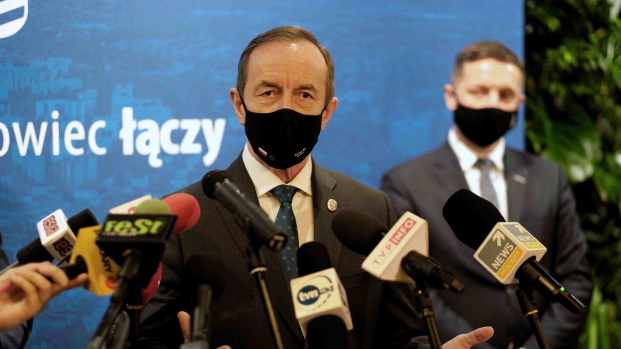 Marszałek Senatu Tomasz Grodzki (fot. PAP/Andrzej Grygiel)