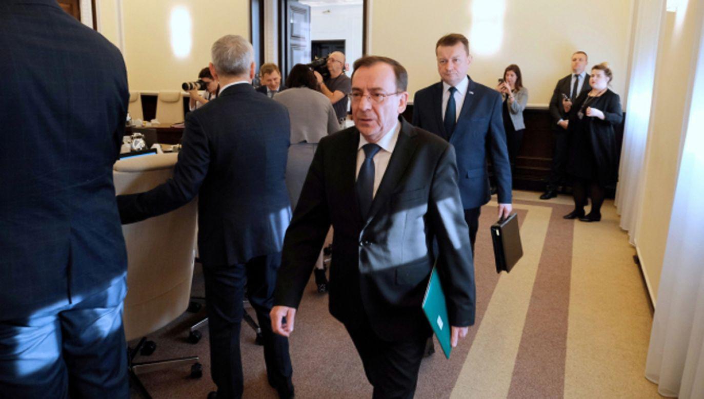 Oskarżono Kamińskiego o wywieranie na niego nacisków podczas operacji dotyczącej rzekomej willi Kwaśniewskich (fot. PAP/Mateusz Marek)