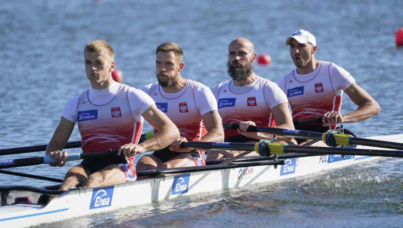 Mateusz Wilangowski, Mikolaj Burda, Marcin Brzeziński i Michał Szpakowski nie spodziewali się, że nie awansują do finału (fot. Getty Images)
