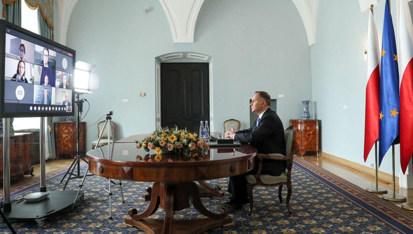 Prezydent Andrzej Duda reprezentuje Polskę na szczycie klimatycznym (fot. KPRP/Marek Borawski)