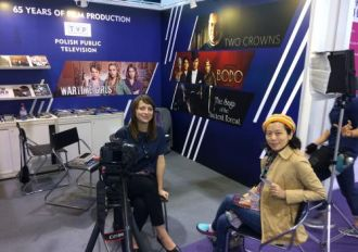 Telewizja Polska na targach FILMART w Hongkongu