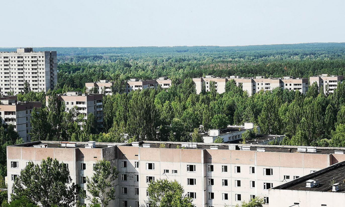 Prypeć  (fot. Radosław Poszwiński)