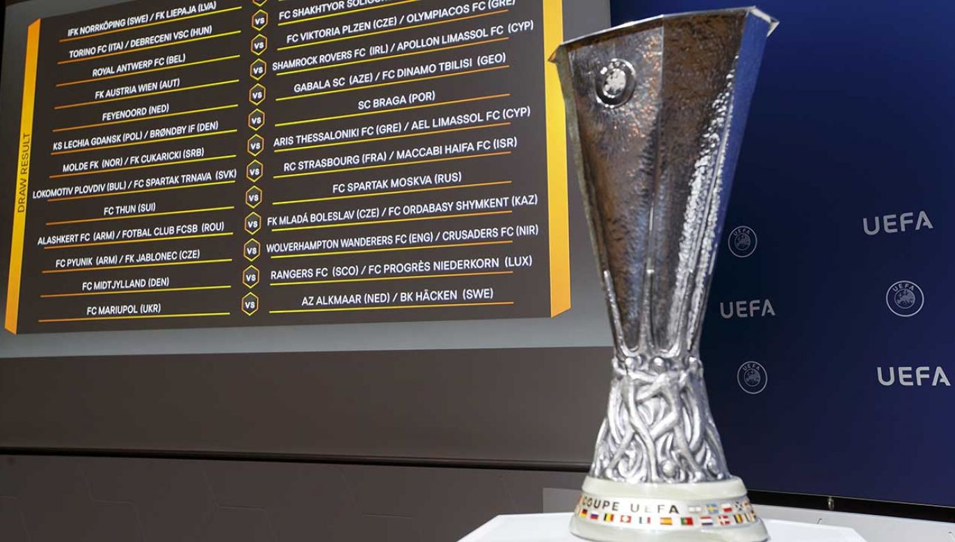 Losowanie kolejej rundy Ligi Europy odbyło się w Nyonie w Szwajcarii (fot.PAP/EPA/SALVATORE DI NOLFI)