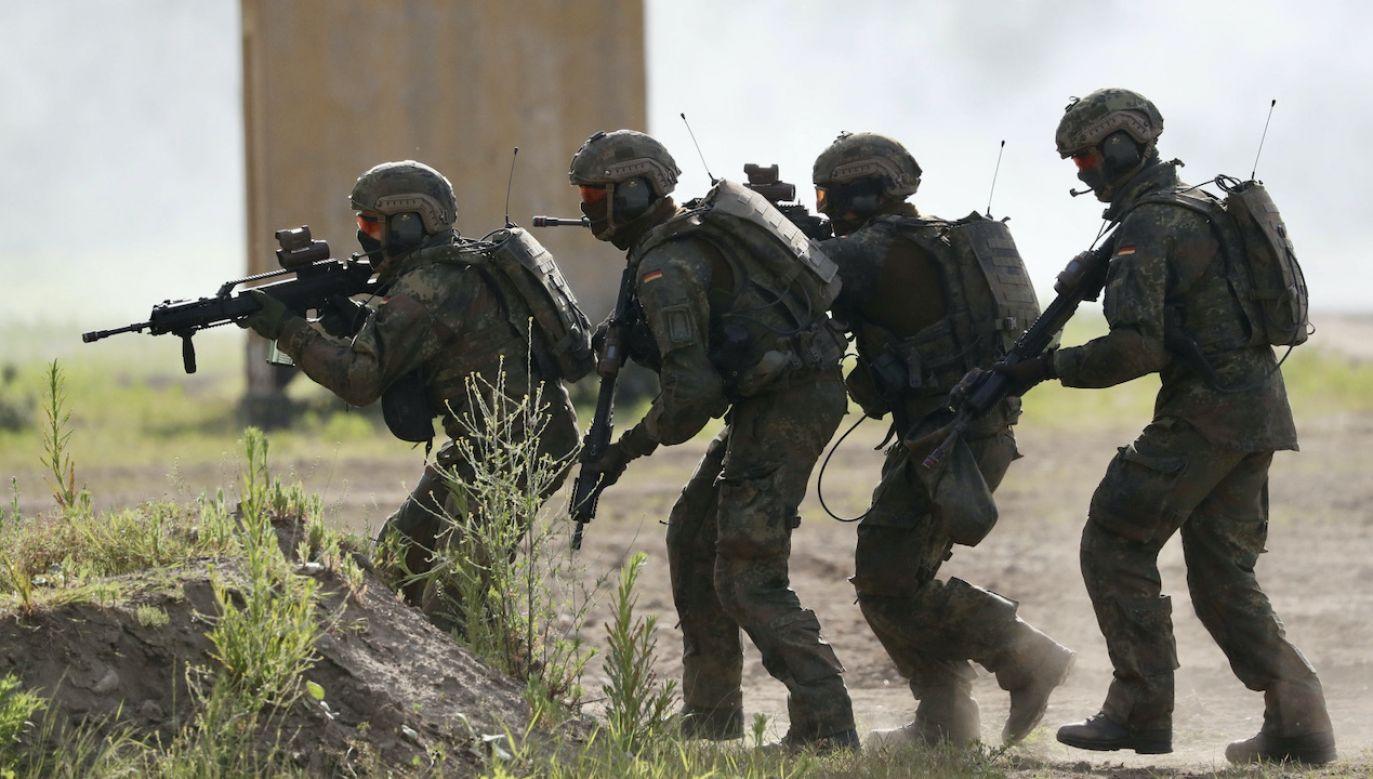 Czterech żołnierzy już zostało wycofanych do Niemiec (fot. PAP/EPA/F.STRANGMANN, zdjęcie ilustracyjne)