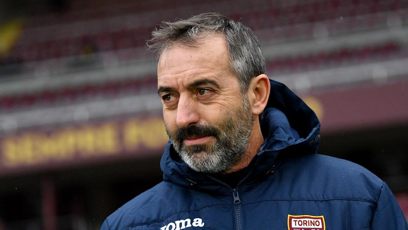 Giampaolo jest poważnym kandydatem  na następcę Brzęczka (fot. Valerio Pennicino/Getty Images)