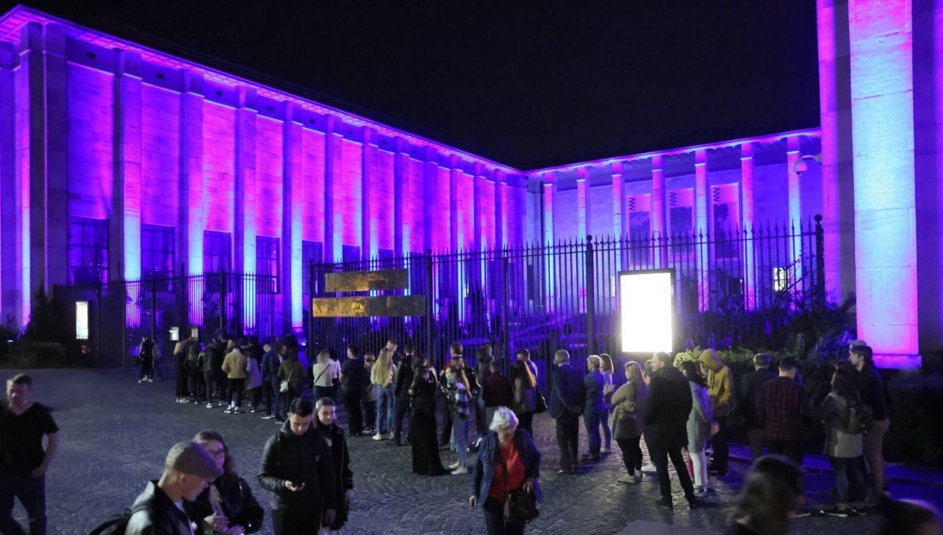 Noc Muzeów w Warszawie (fot. PAP/Leszek Szymański)