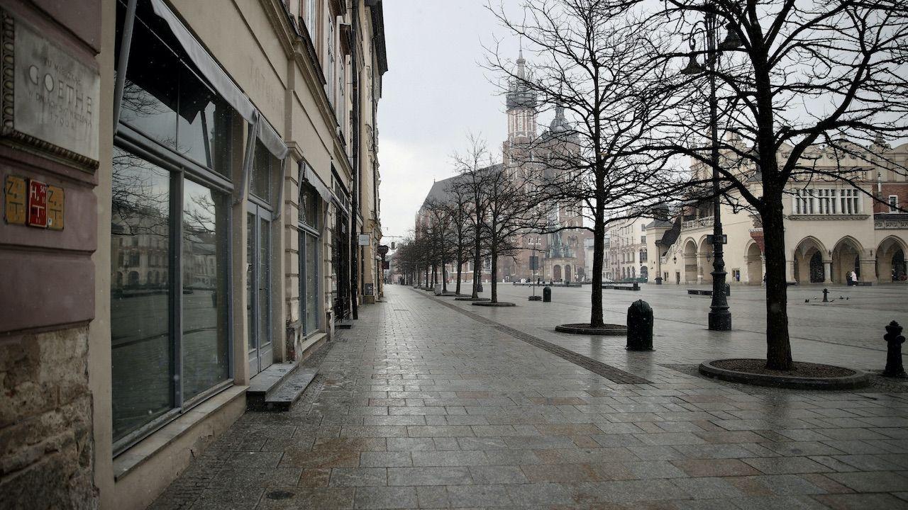 Lockdown przedłużony do 18 kwietnia (fot. PAP/Łukasz Gągulski)