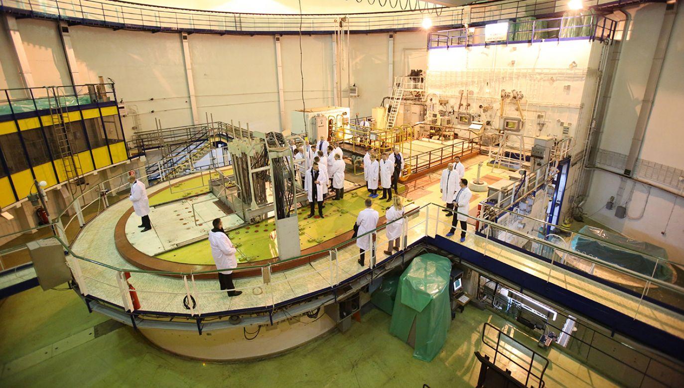 Prezydent Andrzej Duda zwiedza reaktor Maria w Narodowym Centrum Badań Jądrowych (fot. arch. PAP/Leszek Szymański)