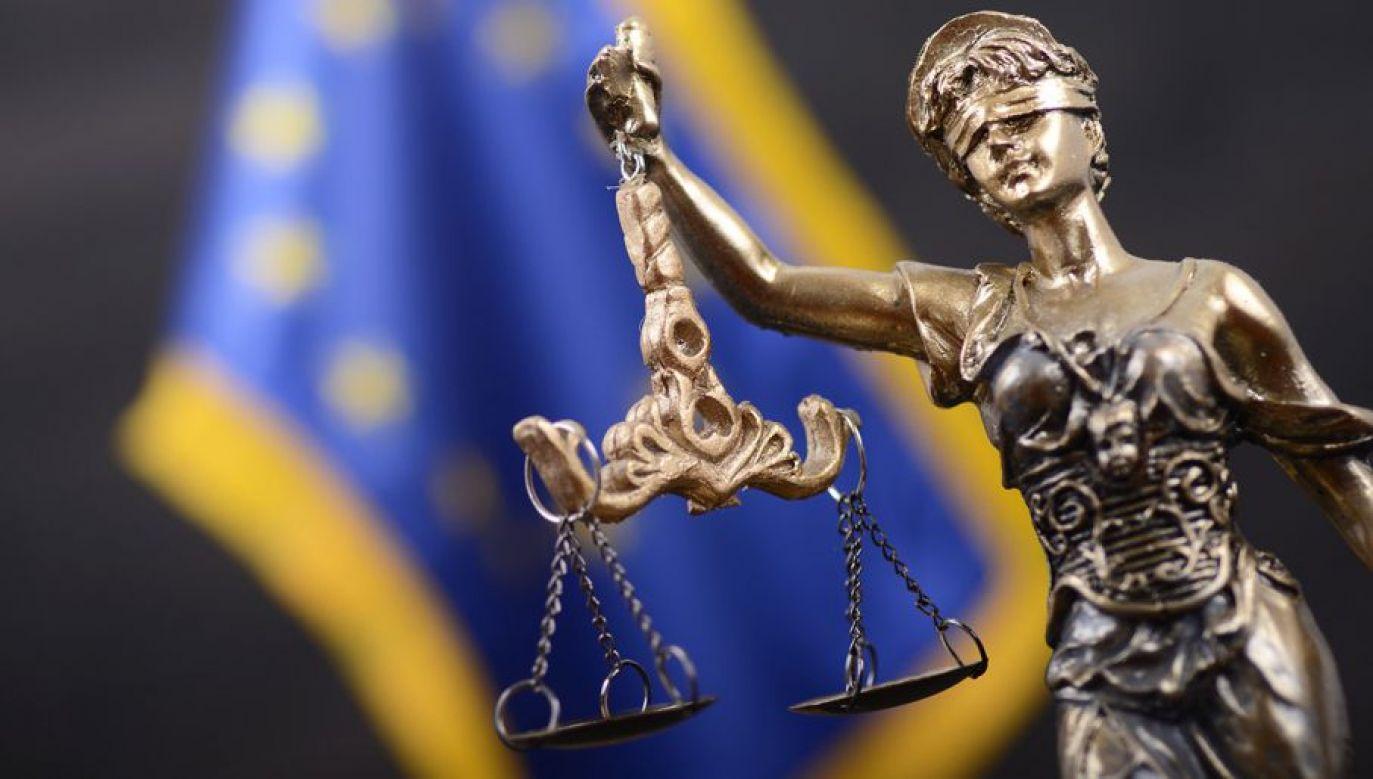 Paweł Sałek odniósł się do konfliktu między rządem francuskim a Trybunałem Sprawiedliwości UE (fot. Shutterstock/corgarashu)