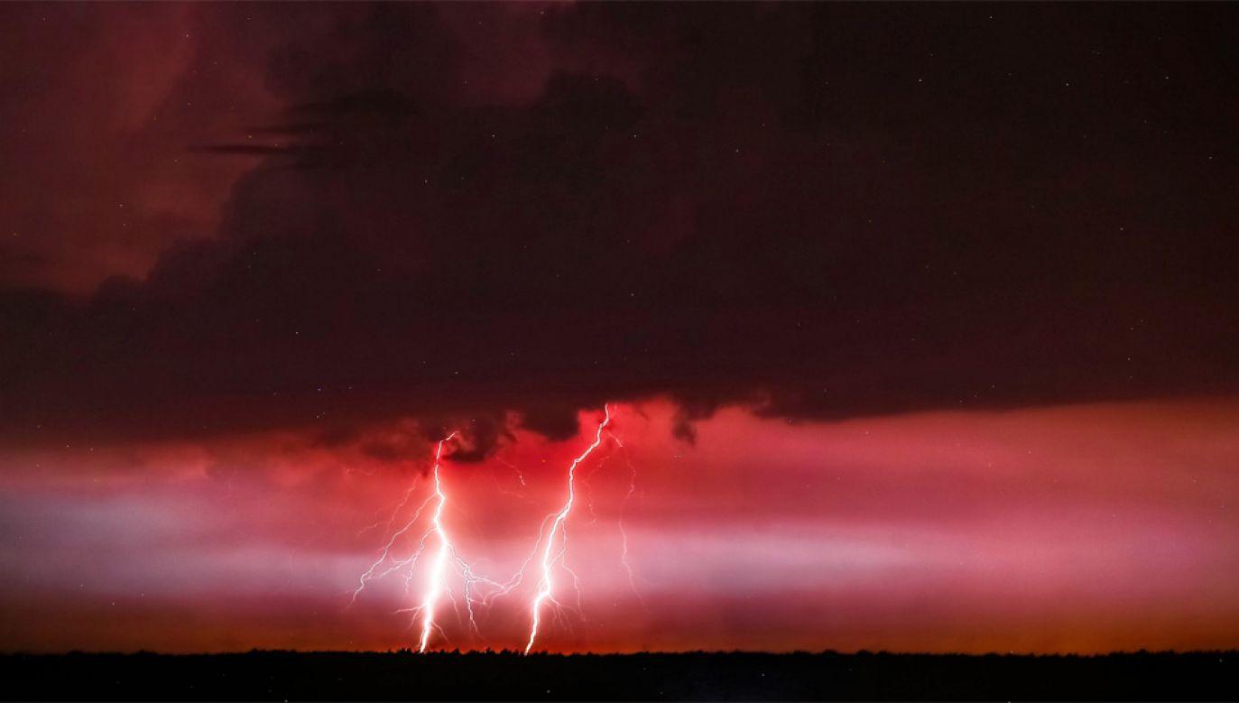 Wysokość opadów w czasie burzy wyniesie do 40 mm (fot. PAP/Piotr Augustyniak)
