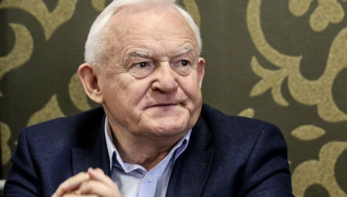 Leszek Miler był jednym z najważniejszych polityków PZPR w latach 80. (fot. Michal Fludra/NurPhoto via Getty Images)