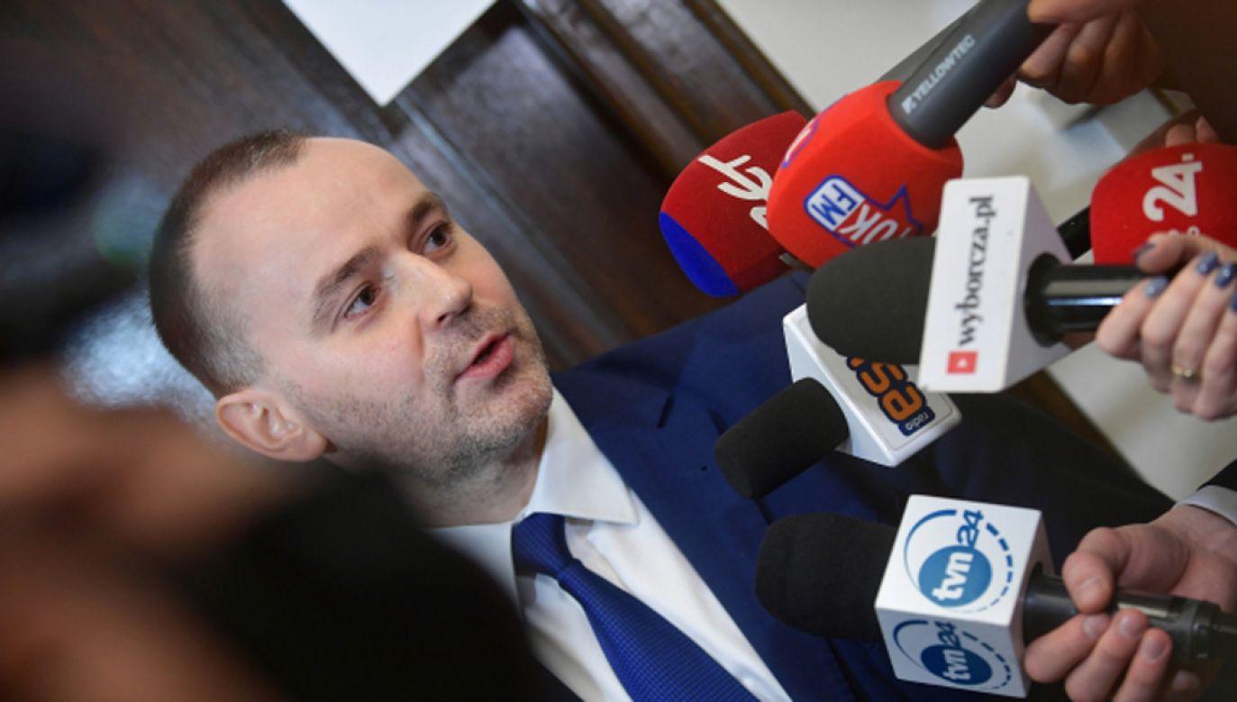 Szef Kancelarii Prezydenta RP Paweł Mucha (fot. PAP/Marcin Obara)