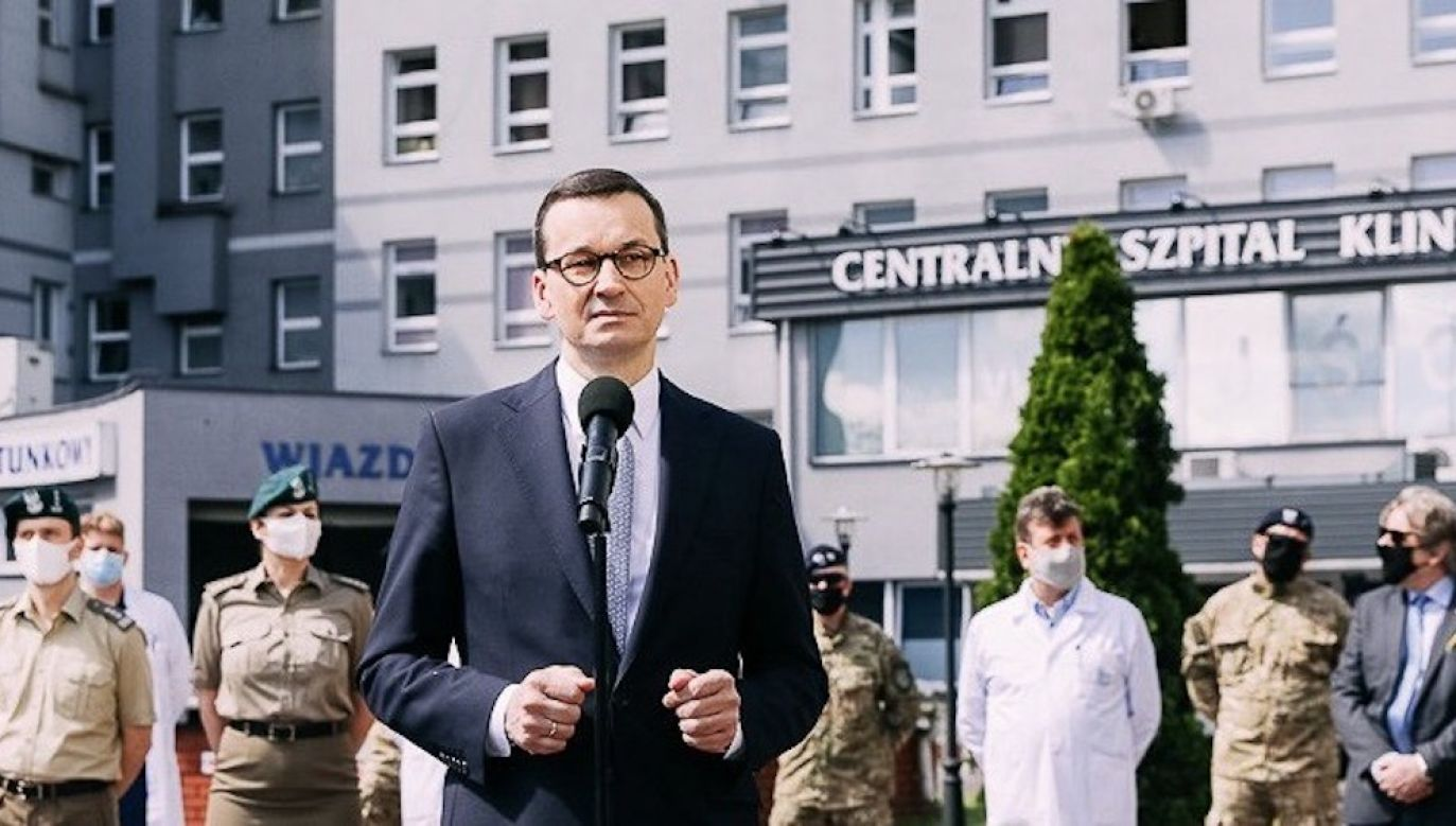 Premier Mateusz Morawiecki (fot. Twitter/KPRM)