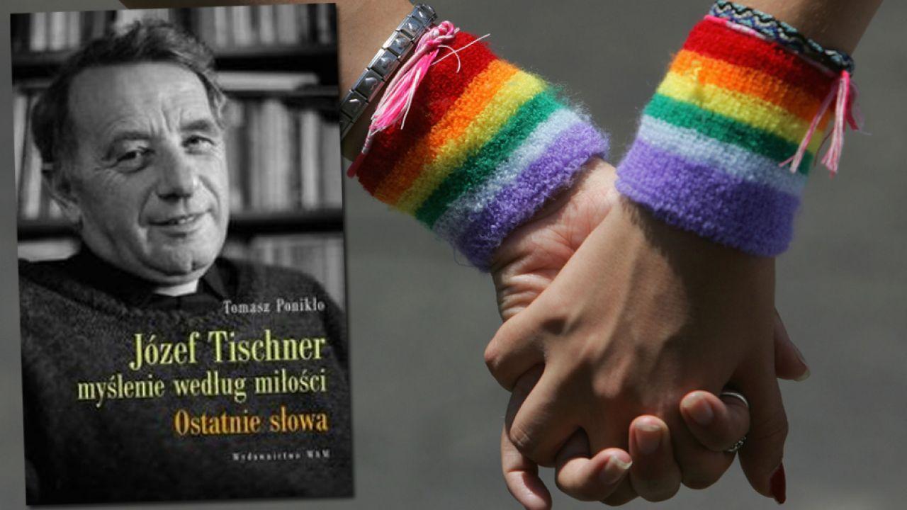 Literatura gejowska stała się ważniejsza niż filozofia – stwierdził szef Instytutu Tischnera (fot. tischner.pl/David Silverman/Getty Images)