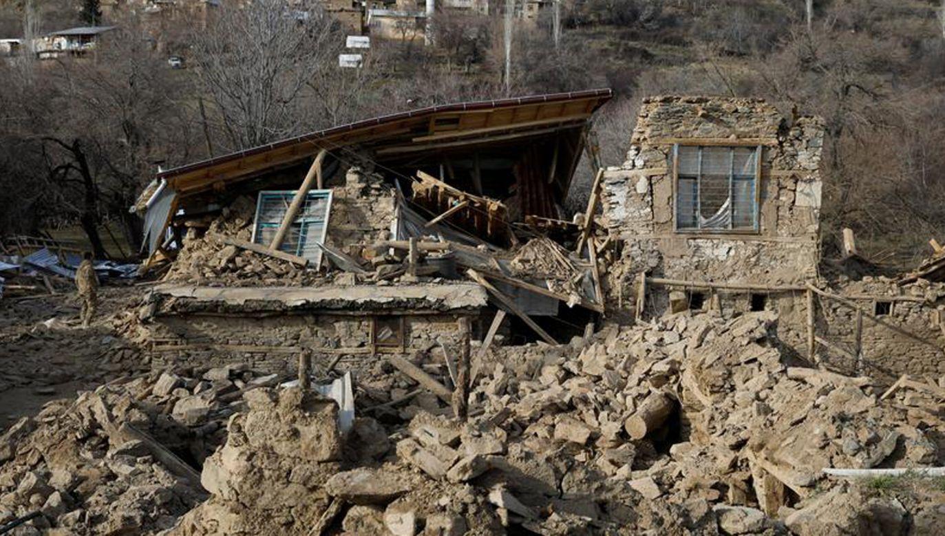Do trzęsienia ziemi w Turcji doszło również w styczniu (REUTERS/Umit Bektas)
