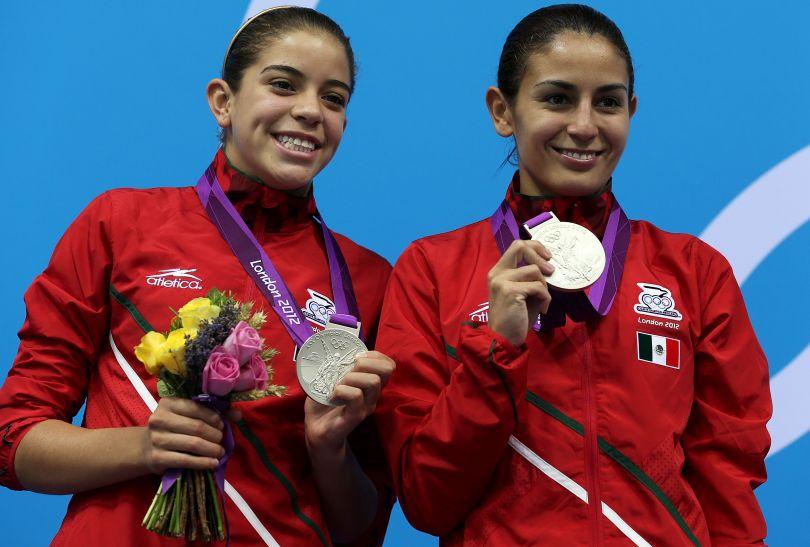 Srebro wywalczyły Meksykanki Paola Sanchez Espinosa i Alejandra Loza Orozco (fot. Getty Images)