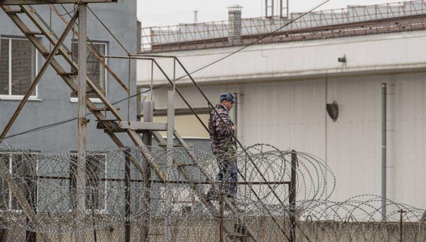 Opozycjonista został przeniesiony do szpitala więziennego w kolonii karnej nr 3 we Włodzimierzu (fot. PAP/EPA/SERGEI ILNITSKY)