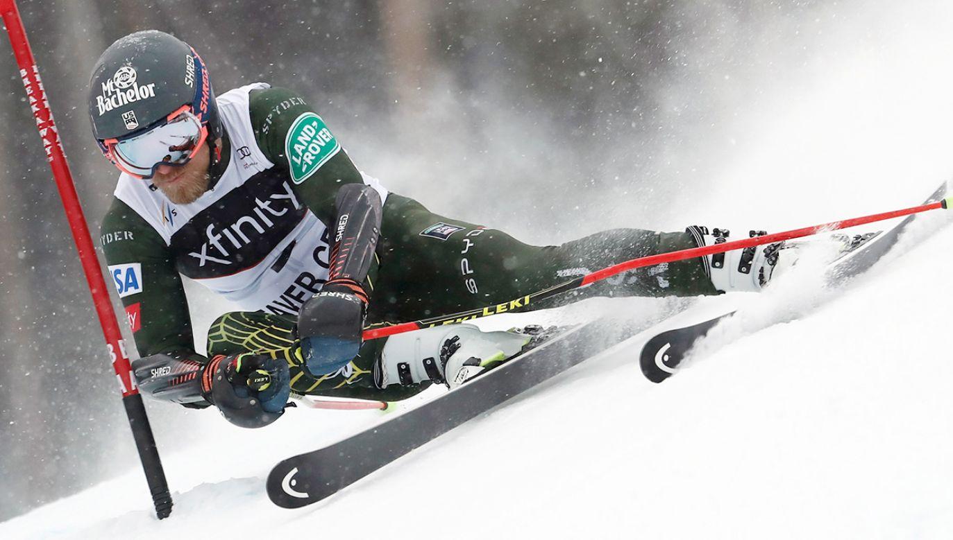 Tommy Ford to jeden z najbardziej doświadczonych zawodników w Pucharze Świata (fot. Alexis Boichard/Agence Zoom/Getty Images)