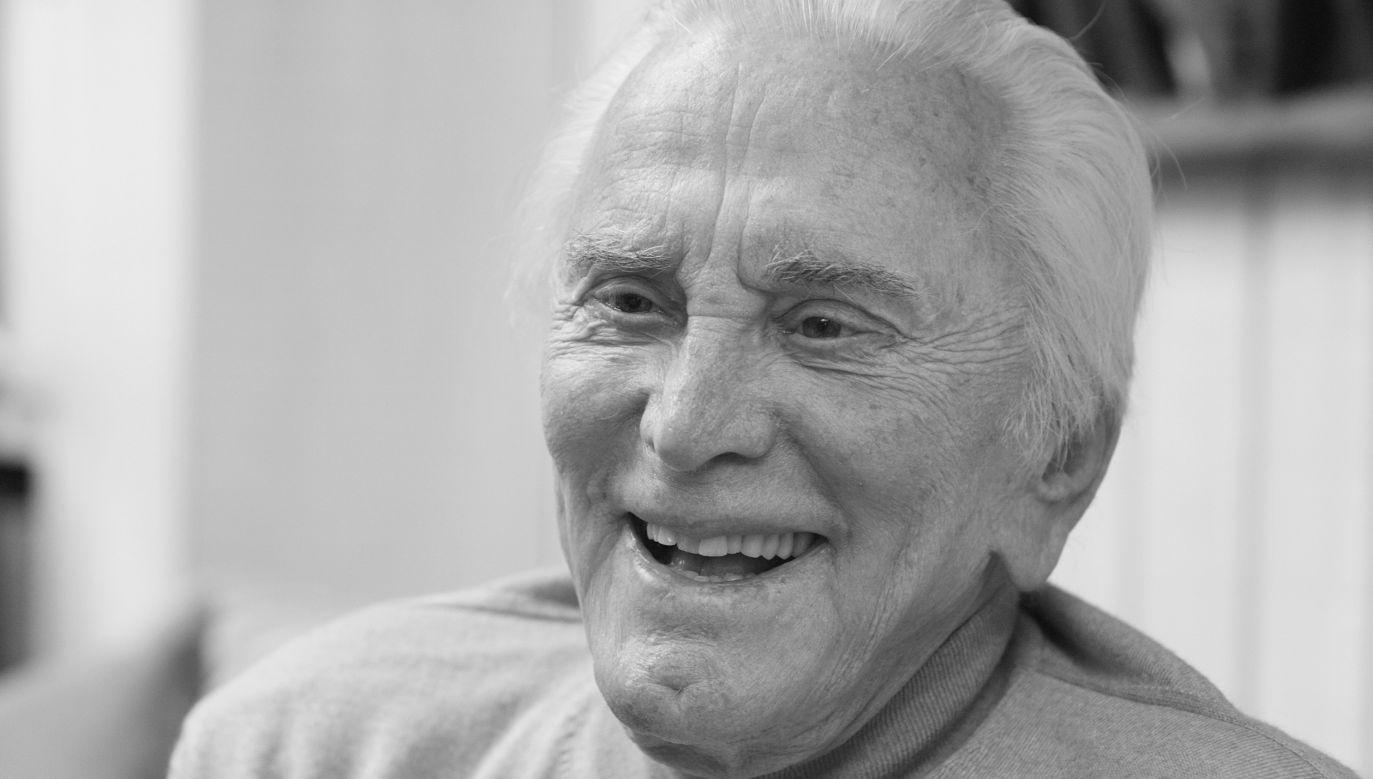 Kirk Douglas miał 103 lata (fot. Reuters/Fred Prouser)