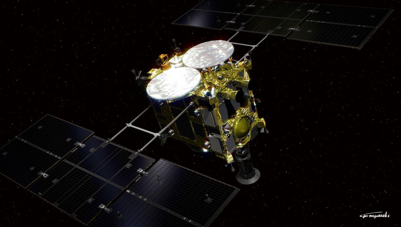 Misja Hayabusy2 ma się zakończyć w 2020 roku (fot. wikipedia.org/Go Miyazaki)
