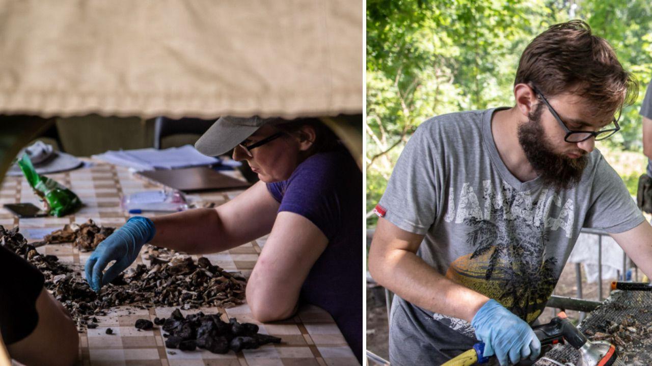 Prace ekshumacyjne i badania archeologiczne  (fot. IPN)