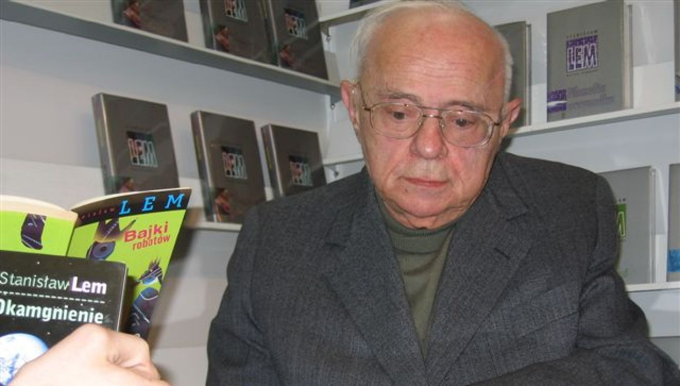 Polish science fiction writer Stanisław Lem Photo: Wikimedia Commons/Mariusz Kubik