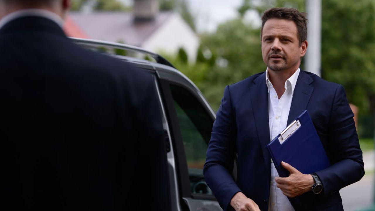 Rafał Trzaskowski, prezydent Warszawy i wiceszef PO (fot. Omar Marques/Getty Images)