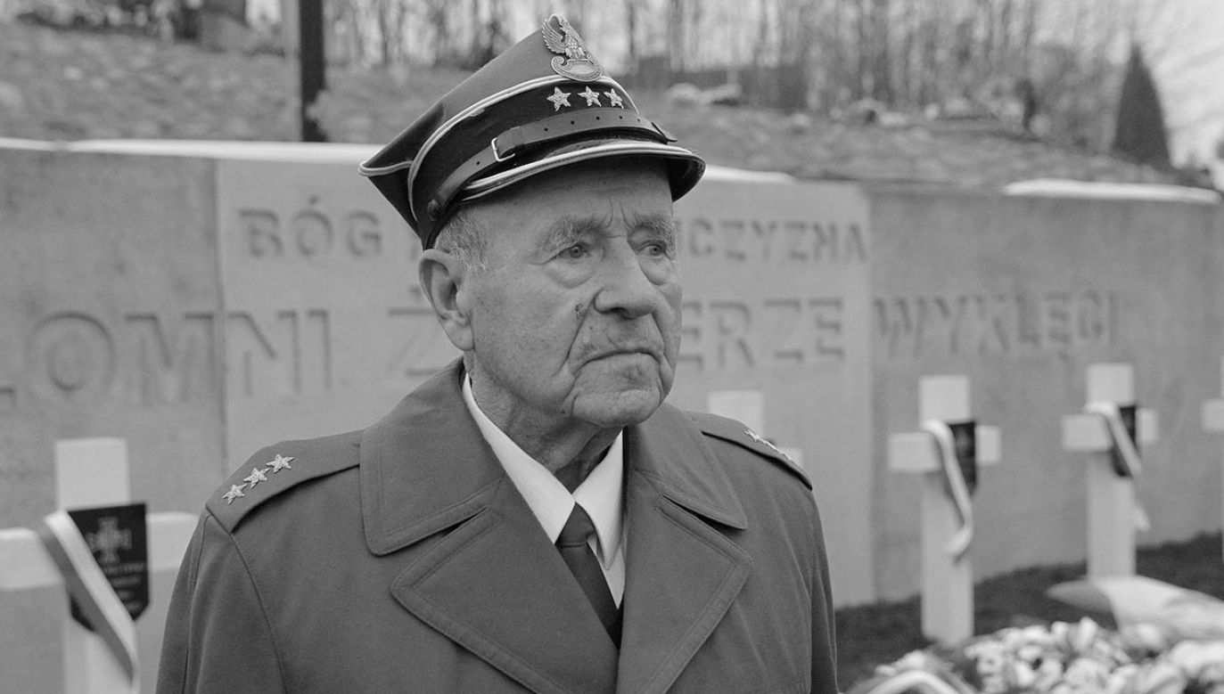 W wieku 94 lat zmarł w Lidzbarku Warmińskim major Lucjan Deniziak (fot. PAP/Tomasz Waszczuk)