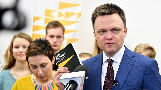 Kandydat w wyborach prezydenckich 2020 Szymon Hołownia  (fot. PAP/Piotr Polak)