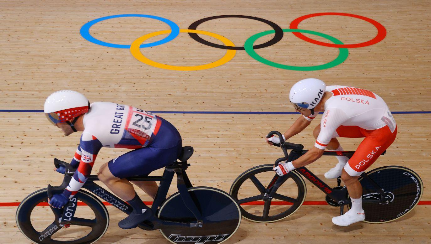 Z prawej Szymon Sajnok (fot. Getty Images)