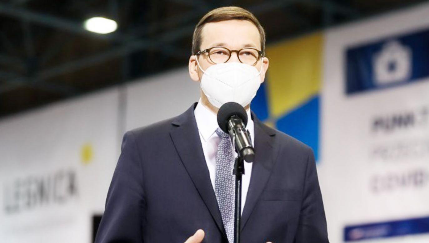 Premier Mateusz Morawiecki (fot. Adam Guz/KPRM)