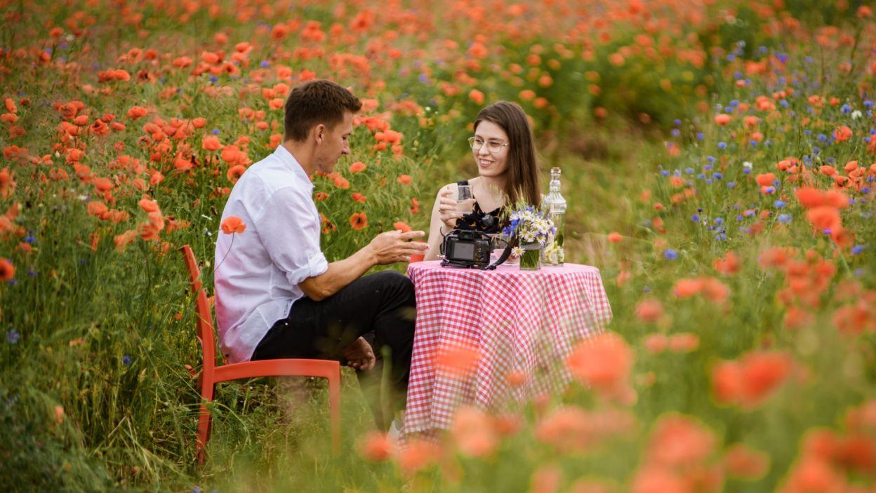 Zakończyła się ona randką w pięknej scenerii (fot. TVP)