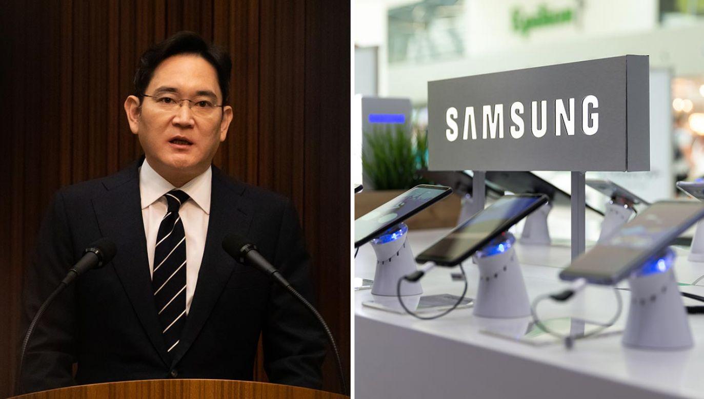 Li Dze Jong – miliarder, wnuk założyciela i faktyczny szef Samsunga (fot. SeongJoon Cho/Bloomberg via Getty Images; Shutterstock/N.Z.Photography)