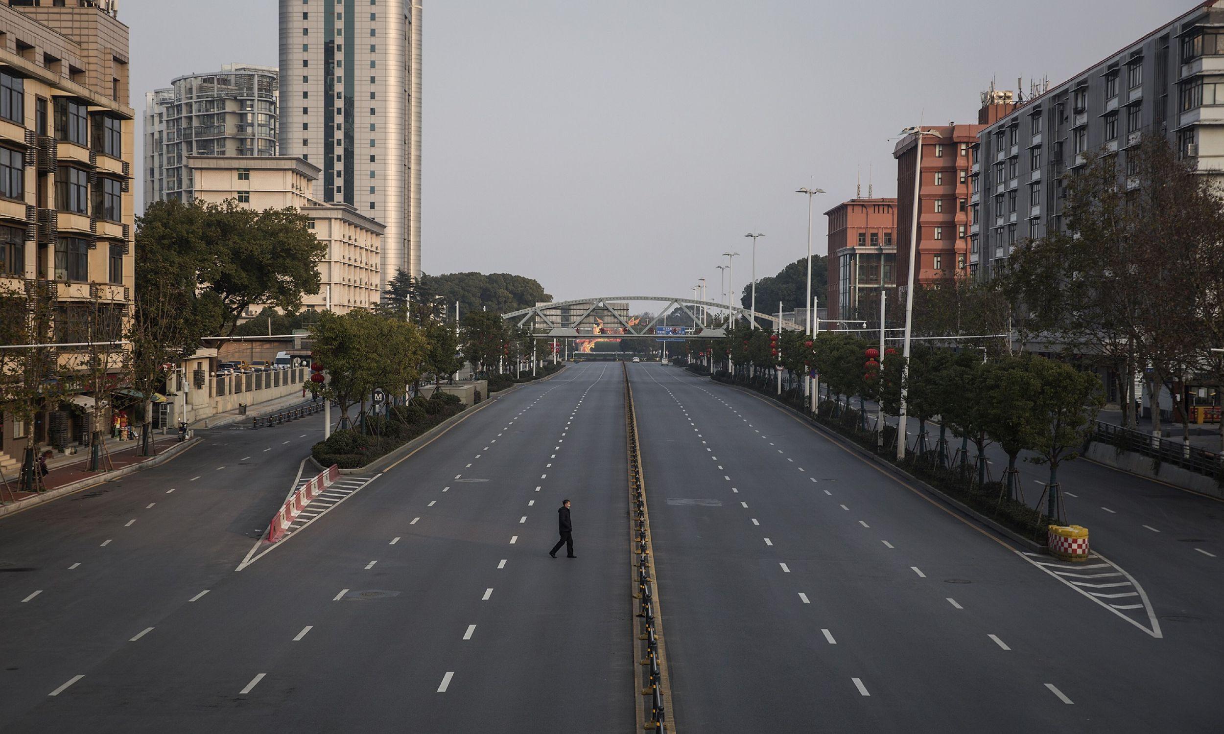 To przemysłowy gigant wielkości Londynu, z 11 milionami mieszkańców. Dziś jego ulice świecą pustkami. Fot. Getty Images