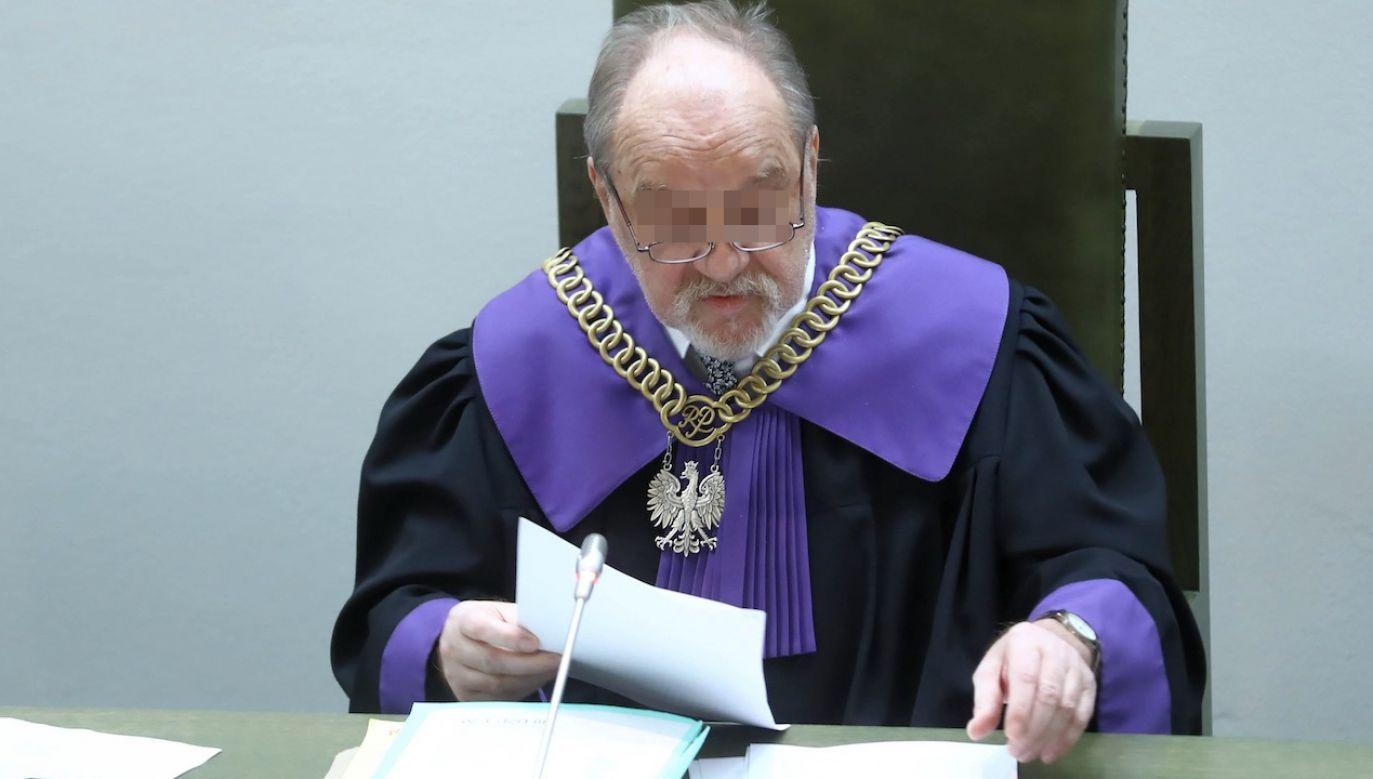 Sędzia Józef I.(fot. arch.PAP/Rafał Guz)