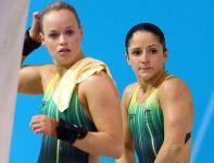Australijki Loudy Wiggins oraz Rachel Bugg, które uplasowały się tuż za podium (fot. Getty Images)