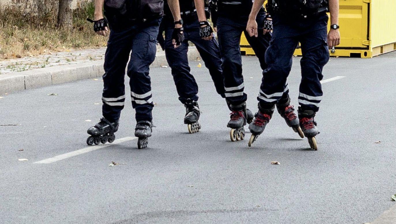 Policjanci podkreślają, że policjantem jest się także po służbie (fot. Anita Pouchard Serra/Bloomberg via Getty Images)